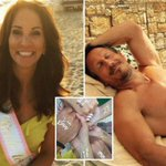 Loose Women's Andrea McLean shares picture of fit topless fiance Nick Feeney after sparking marriage rumours on holiday