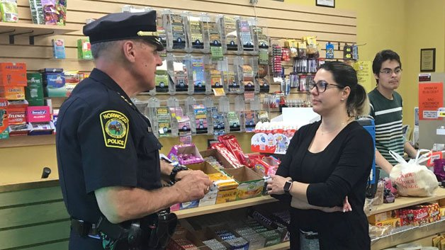 Norwood Store Owner Helps Stop GrandparentScam