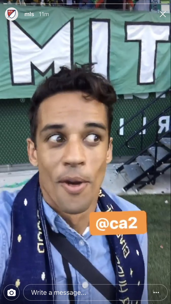 👀  Our guy @CalenCarr is pitchside in Portland. Follow along: https://t.co/dnO6vTFyzB #PORvNY https://t.co/x6mO0vcmoz