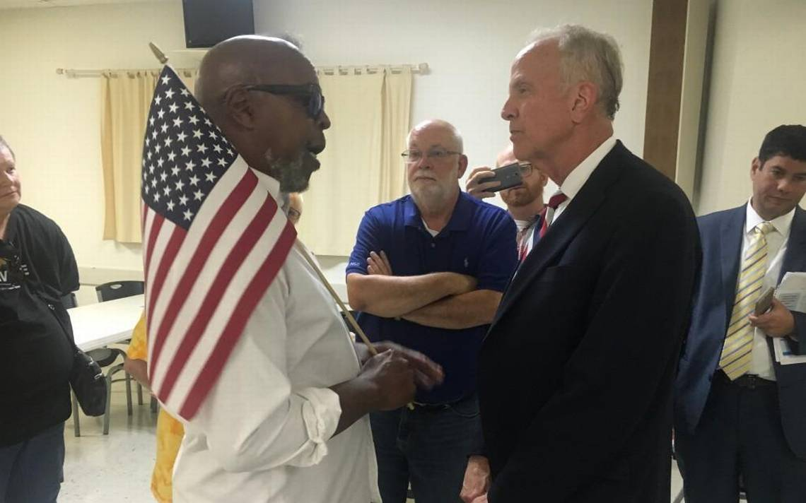 At Topeka town hall, Moran talks Trump after tumultuous week for the White House