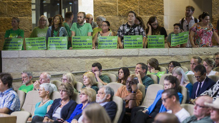 City Council considers upping renewable power goals at Austin Energy