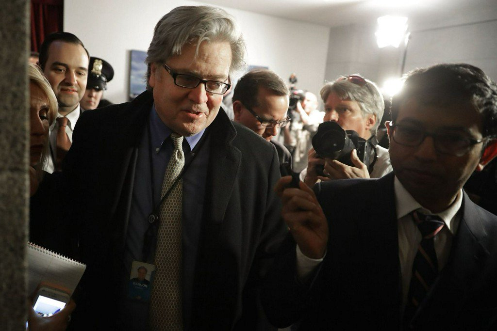 Reports: Trump says he's decided to 'remove StephenBannon'