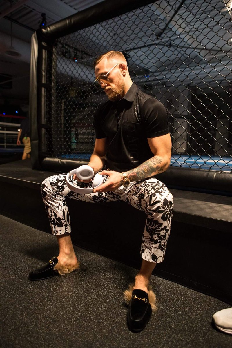 August x McGregor and Beats by Dre! A match made in style heaven!...