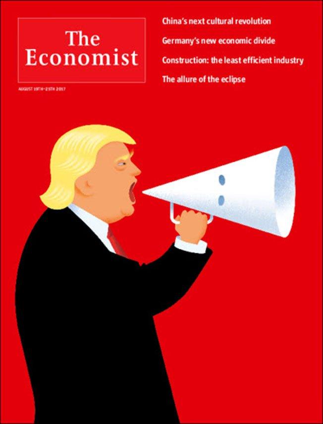 Importantes publicações criticam Trump em suas capas desta semana