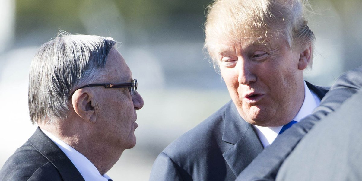 If Trump pardons Arpaio, GOP can't claim 'rule of law' on immigration