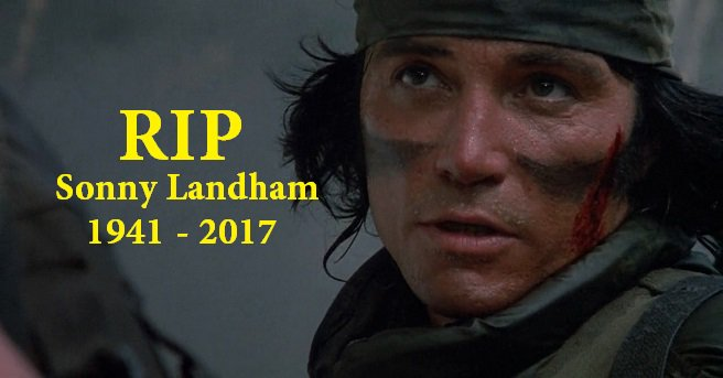 RIP: Predator's Sonny Landham https://t.co/RmQali3RQz https://t.co/gdpwPFVAh6