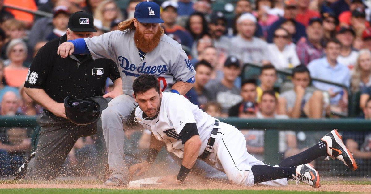 Photos: Tigers vs. Dodgers series