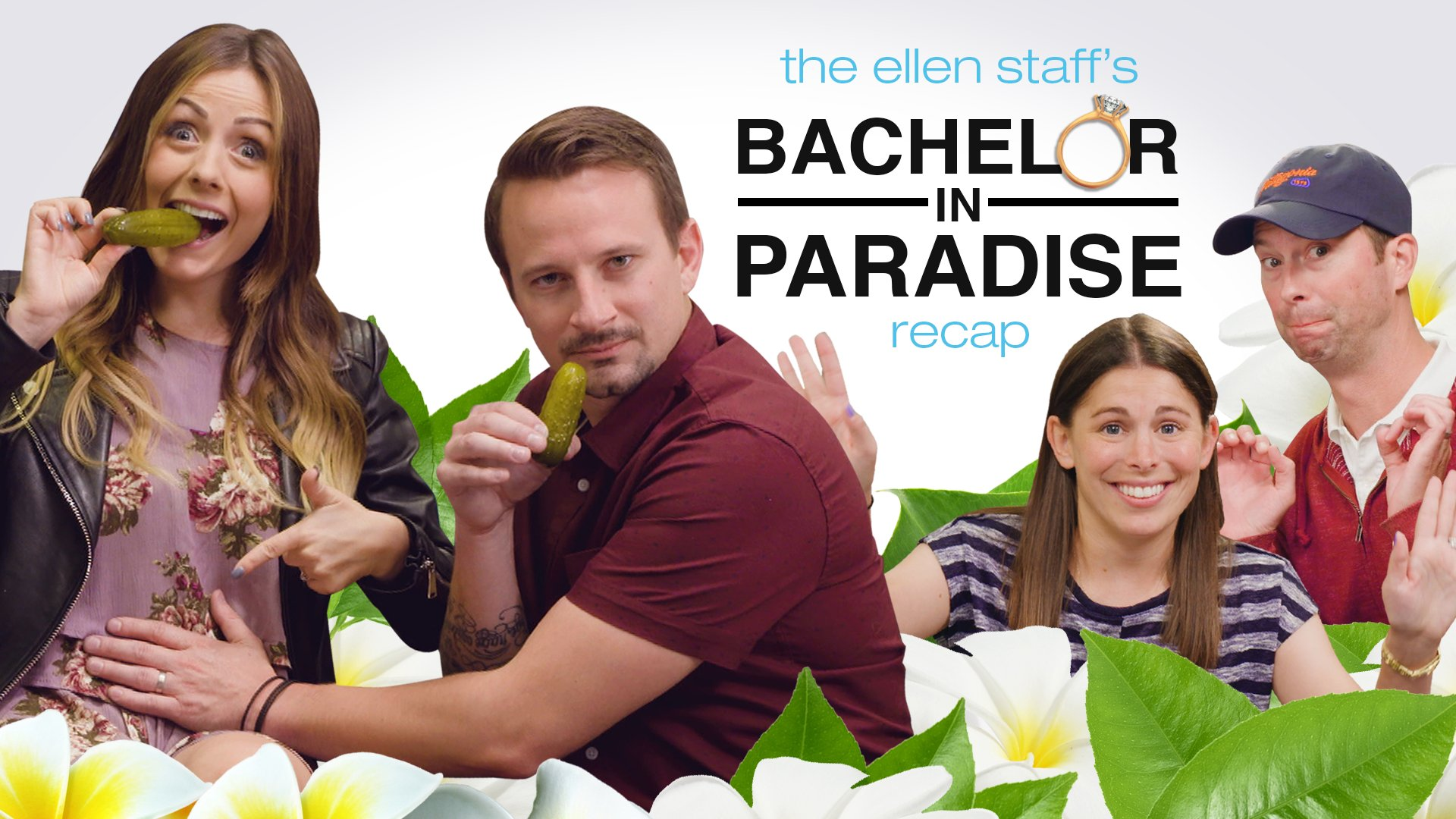#BachelorInParadise fans! Carly and Evan are in Tracy's cubicle for my staff recap show! Oh baby! https://t.co/VP2c7xs8Sc
