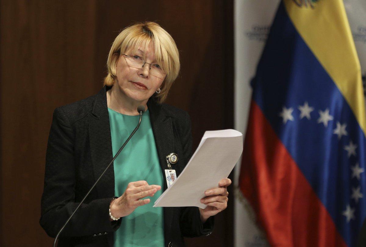 Exfiscal Luisa Ortega llegó a Colombia tras salir de Venezuela
