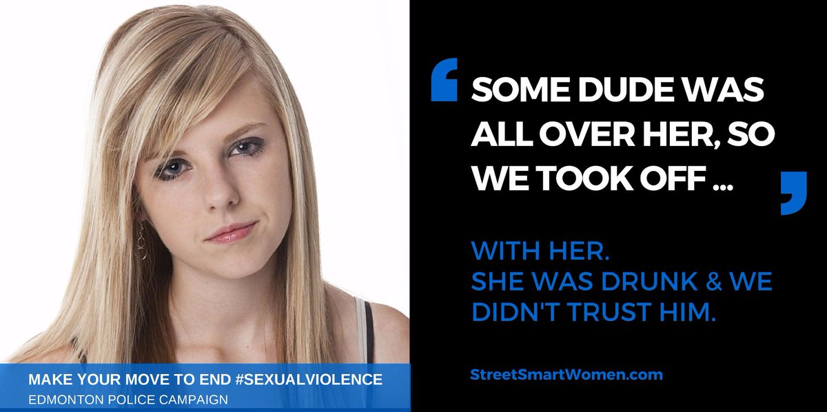 We all play a role in ending sexual assault. When you see something - do something (safely) #VAW #ItsOnUs https://t.co/J7EYiL7AX2