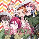 9/29発売『2D☆STAR Vol.8』B-PROJECTの表紙グラビアが到着しました!アニメイト限定セットも実施予定