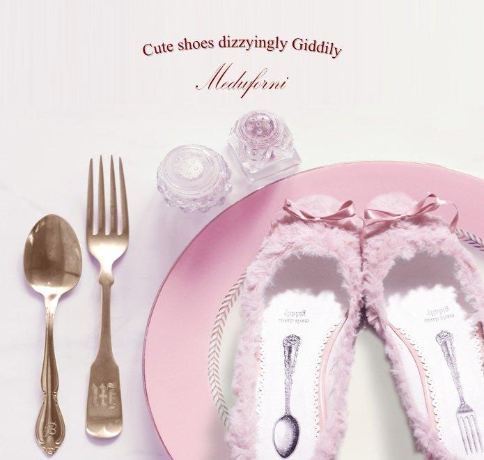 【フォロー&RTで応募完了】めまいがするほど可愛い、デザートな靴~ホイップクリームの甘い囁き~Meduforni