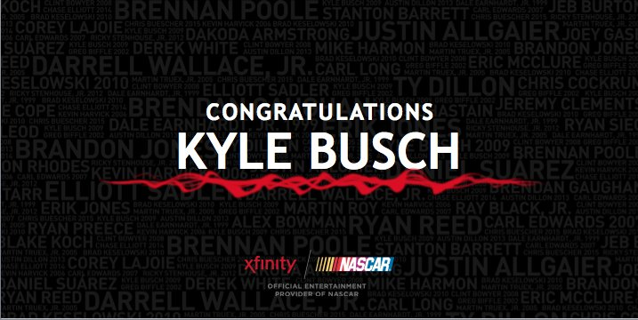 #XfinitySeries