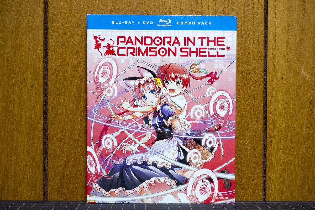 後ろへ向かって前進 Act.2: [届いてた]北米版『紅殻のパンドラ』ブルーレイ ちょうど観てた。