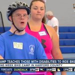 Harford County offers camp to teach kids with special needs how to ride a bike