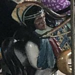 Montreal amusement park yanks carousel horse showing Indigenous man's severed head