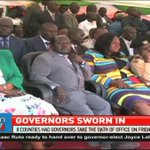 8 Counties have their governors sworn in