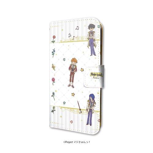 ☆新着☆ 【手帳型スマホケース iPhone 6 / 6s / 7 兼用 マジきゅんっ! ルネッサンス 01 ちりばめデ