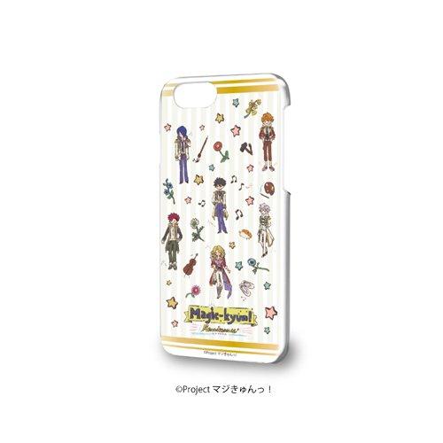 ☆新着☆ 【ハードケース iPhone 6 / 6S / 7 兼用 マジきゅんっ! ルネッサンス 01 ちりばめデザイン