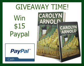 $15 PP-1-WW-City of Gold-Carolyn Arnold-Ends 8/20