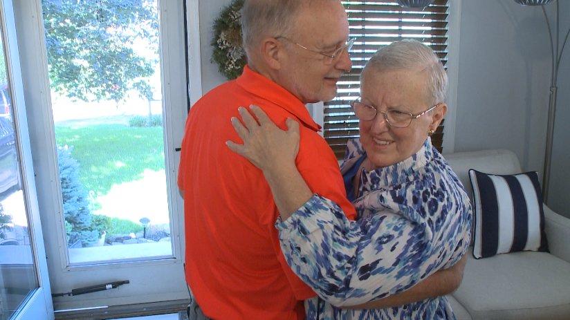 Couple dances across Nebraska for 50th anniversary