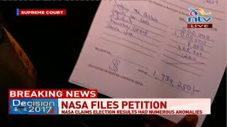 Kenya's Supreme Court in the dock again as Nasa files petition