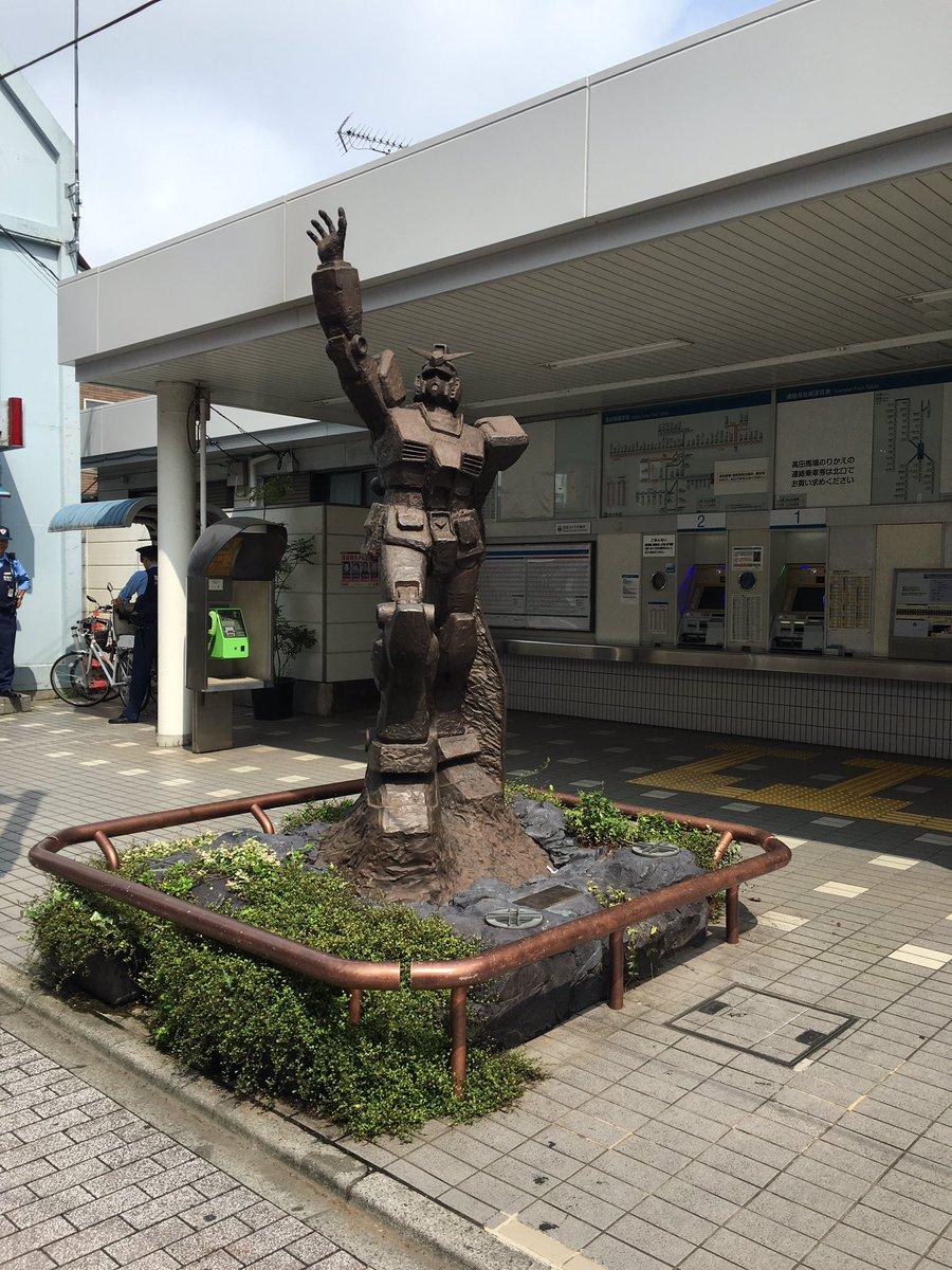 どうでもいいことですが上井草駅にはガンダムさんがいまして、これが何とも言えない「ちっちゃ!」感なのよね。あ、発車音は「翔