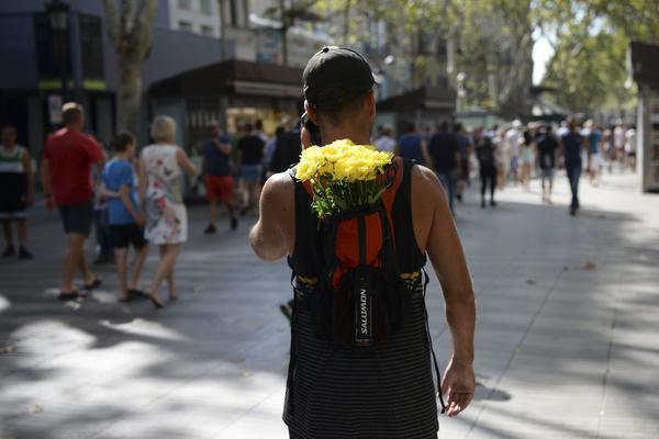Reizigers ongerust na aanslag Barcelona
