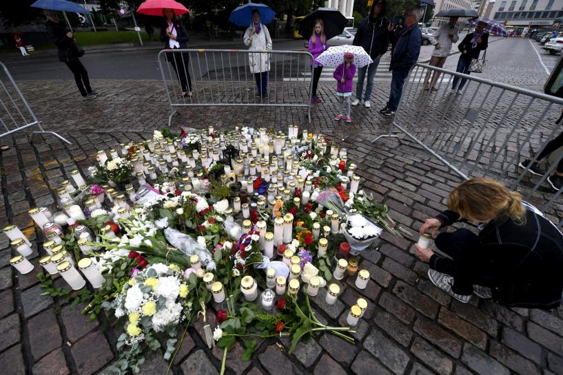 Finnish knife attacks investigated as terrorism-related crimes: police
