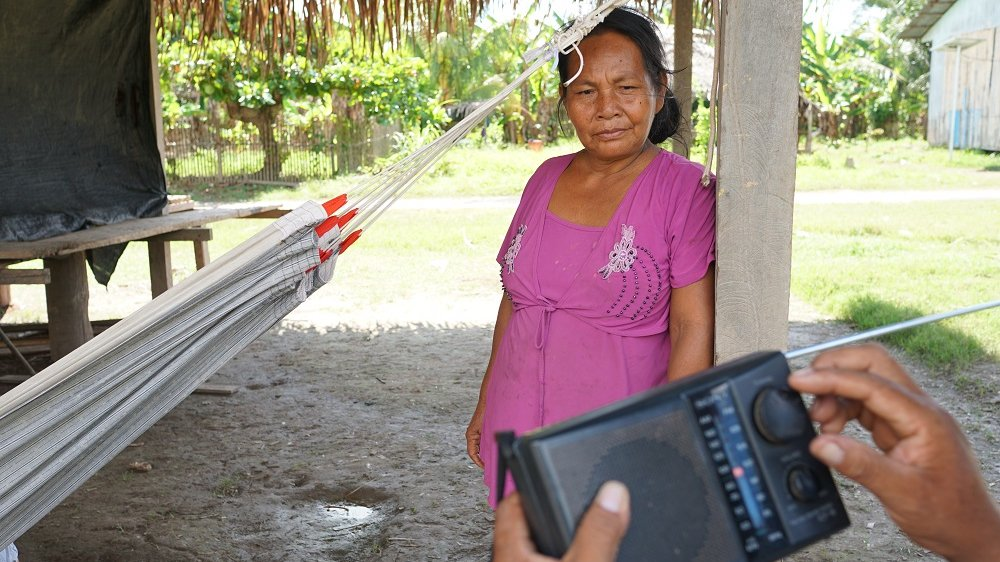 Using radio to confront climate change in Peru