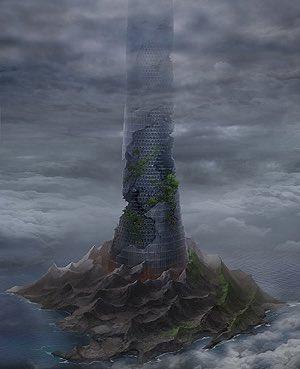 ダンまち昨日からアニメ見はじめて思ったんだけどモンハンの天廊とダンまちの真ん中にある塔ってどっちが高いのかなwwどーでも