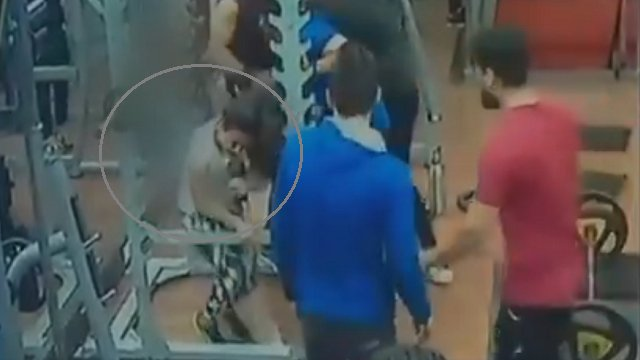 Caught on Camera: Man kicks and punches woman in Indore gym