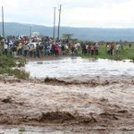 Transport paralysed as Eburru-Gilgil road is cut off by rains