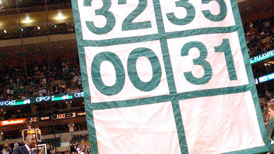 Paul Pierce's number 34 to be retired by Boston Celtics