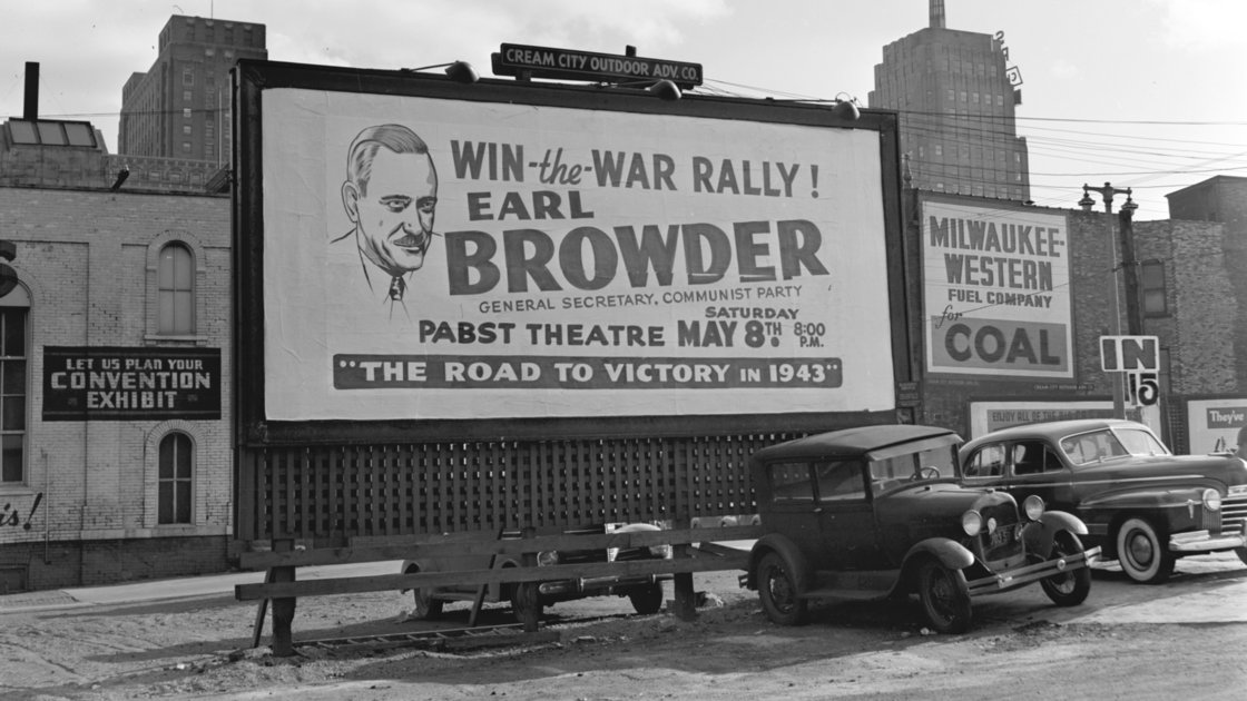 Crash goes the glass on communists -- State Journal editorial from 80 years ago