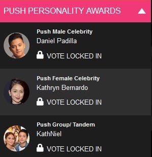 RT @KNPelikula: Push Personality Awards  #PushAwardsKathNiels https://t.co/uRjs8ADuU4