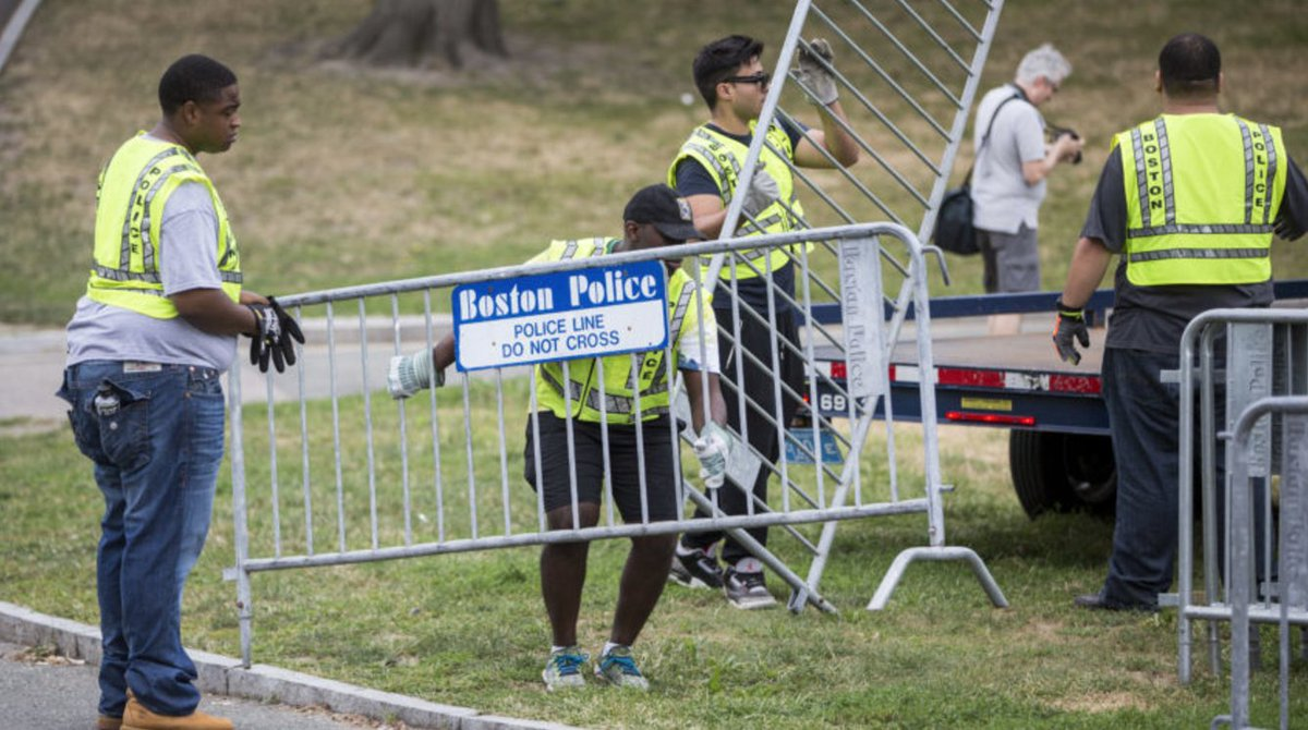 Live updates from the 'free speech' rally and counter-protests on Boston Common
