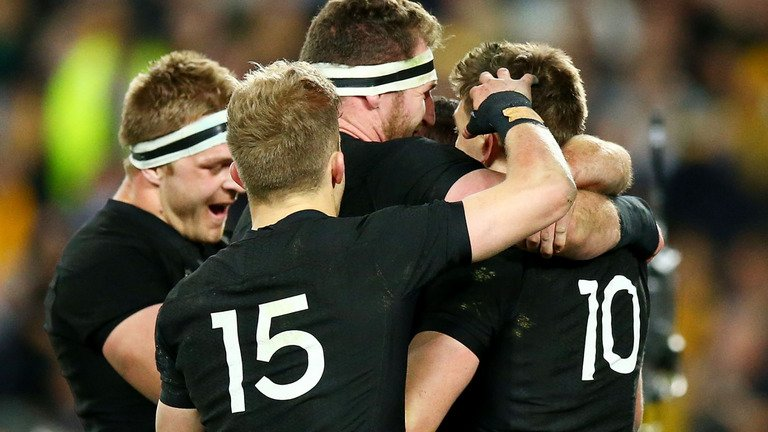 test Twitter Media - Australia 34-54 New Zealand: All Blacks rack up record points tally against Wallabies in Rugby Championship opener: https://t.co/WTlc9MFddc https://t.co/QtgB8VF8VO