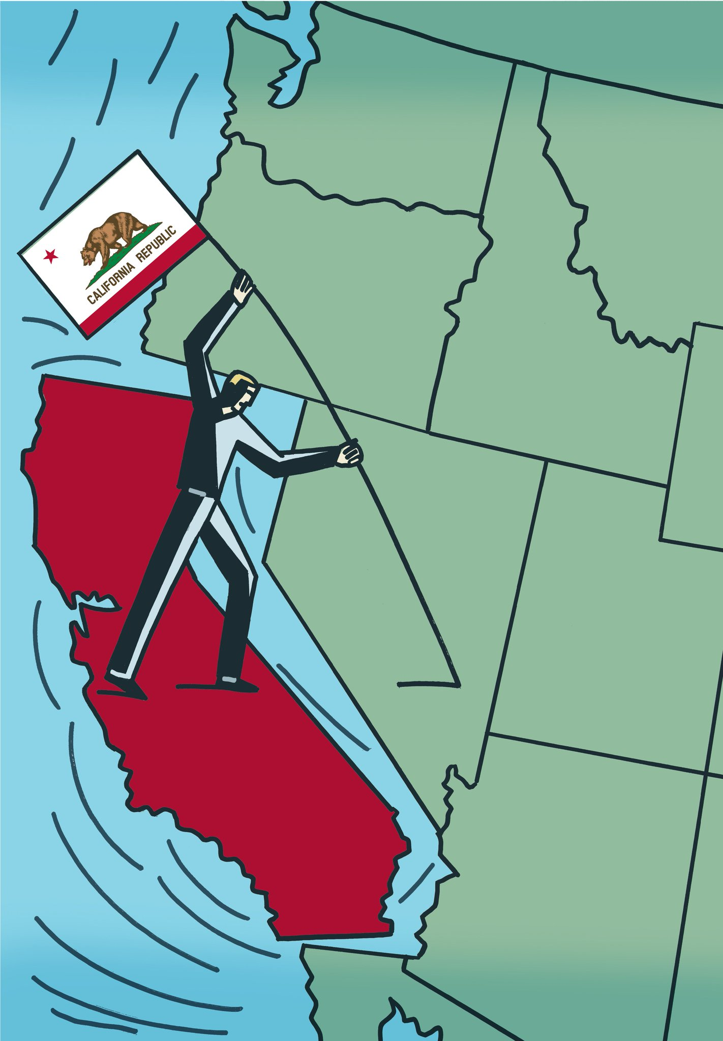 Group files another 'Calexit' initiative in push for California's independence https://t.co/bJRQjrIWsI https://t.co/jCrYI9VlUO