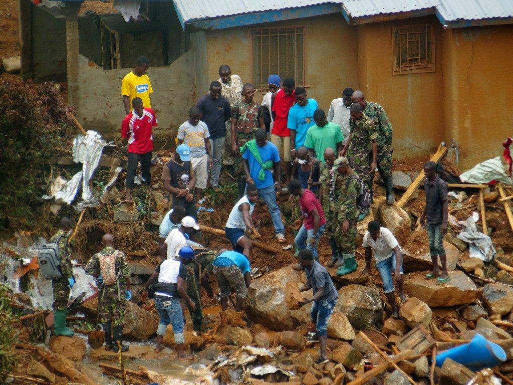Hundreds missing in Sierra Leone mudslides likely dead