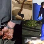 Convicted murderer rapes and kills prison guard before chopping up her body with an axe