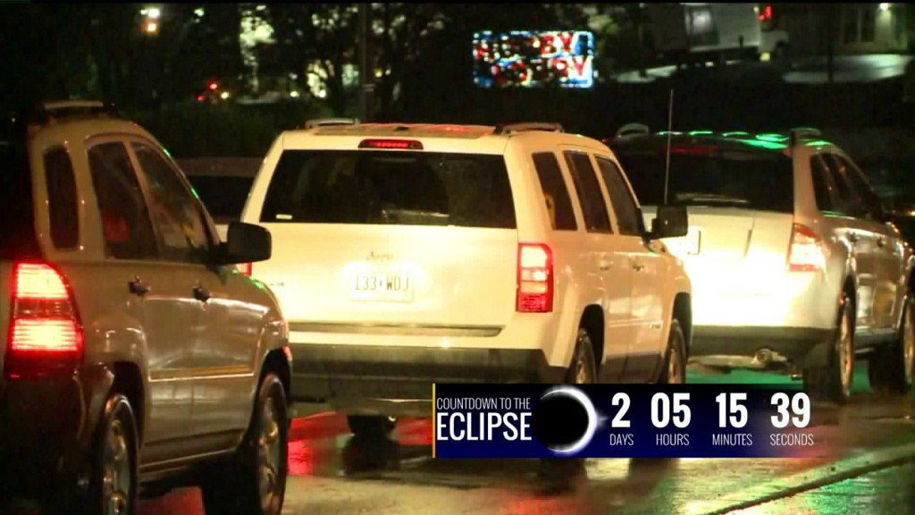 MODOT and IDOT warning drivers to be prepared for the Great American Eclipse