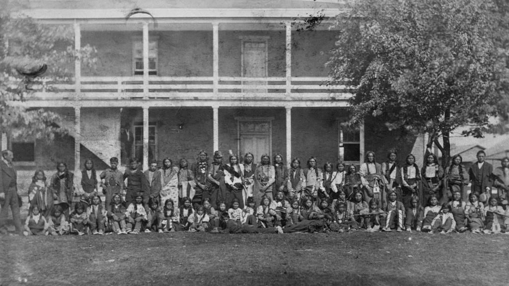 How boarding schools tried to 'Kill the Indian' through assimilation. https://t.co/9egRDD7Q8m https://t.co/K91gEZ8mK0