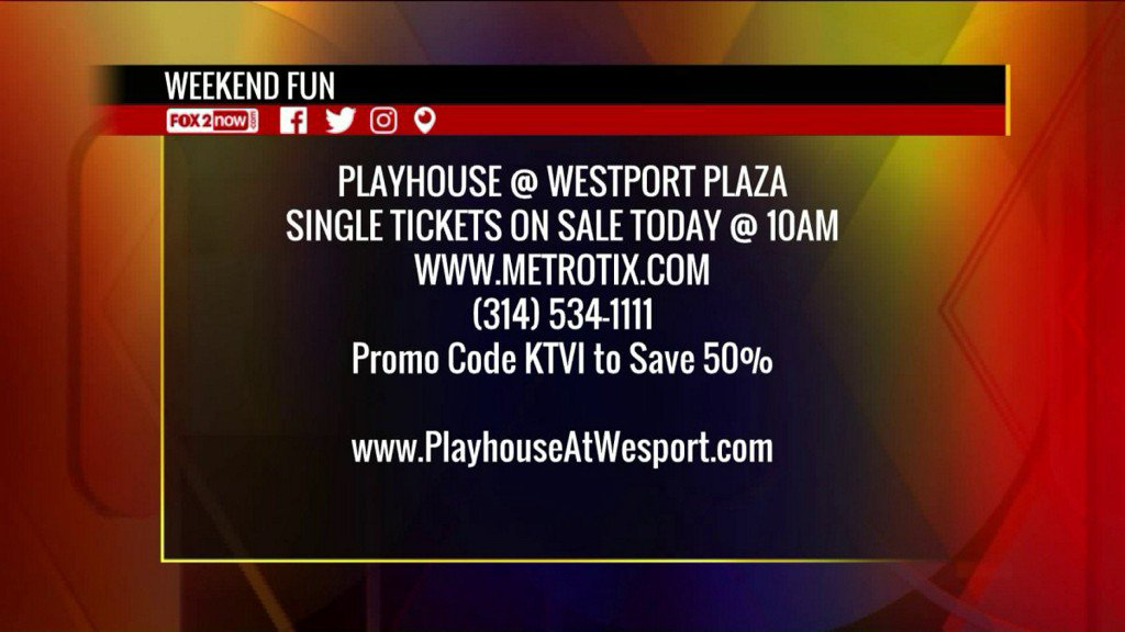 Playhouse @ Westport Plaza 2017-2018 lineup