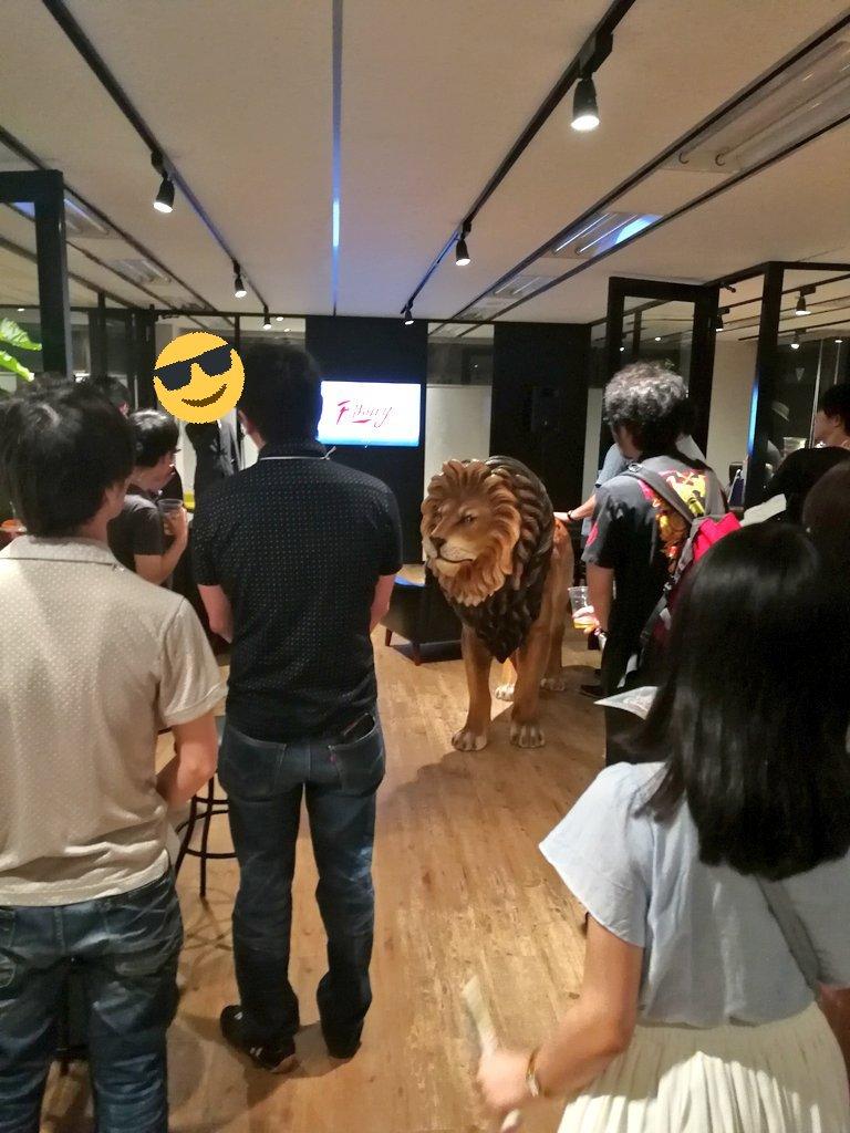天衝さんの新スタジオ、バイブリーアニメーションスタジオの設立パーティーにお邪魔してきました!凄く綺麗で広くてとても居心地