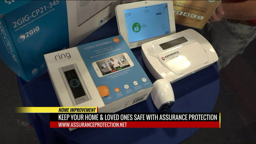 Keep your home safe with Assurance Protection Security