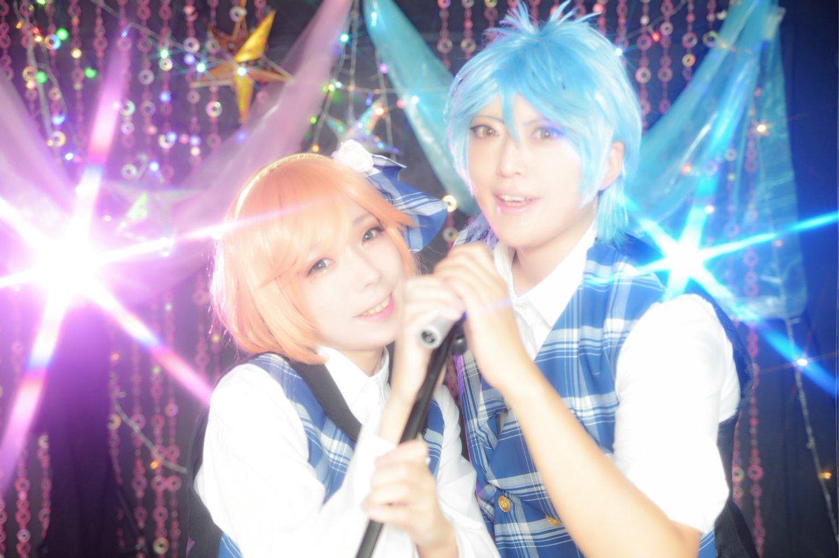 【コス写】「Idol★Time?」金色のコルダ4/響かな(アイドル衣装)小日向かなで:すずさん如月響也:aoiPhoto