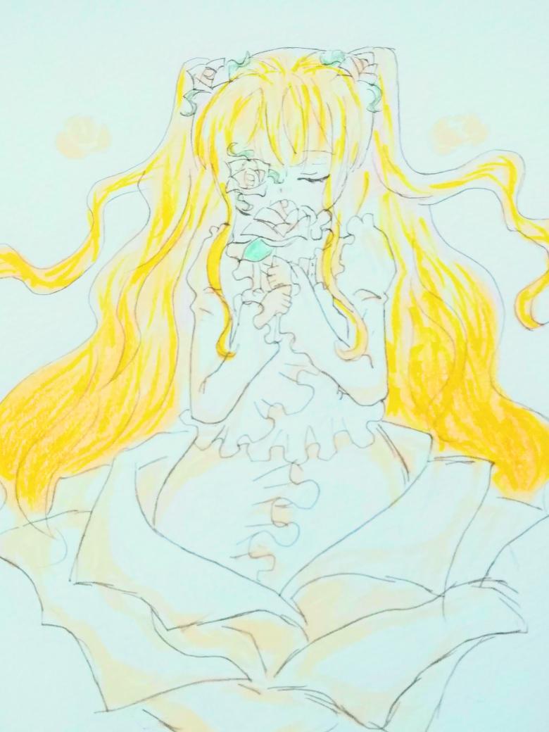 雪華綺晶#ローゼンメイデン #雪華綺晶