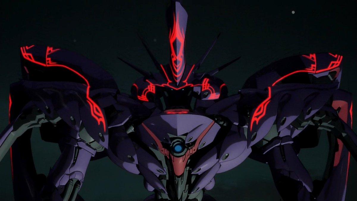 「主役巨大ロボが黒く禍々しく、ほかのロボットが白い」ていうのもいまどきありえないイレギュラーなんかでなくあたりまえにある