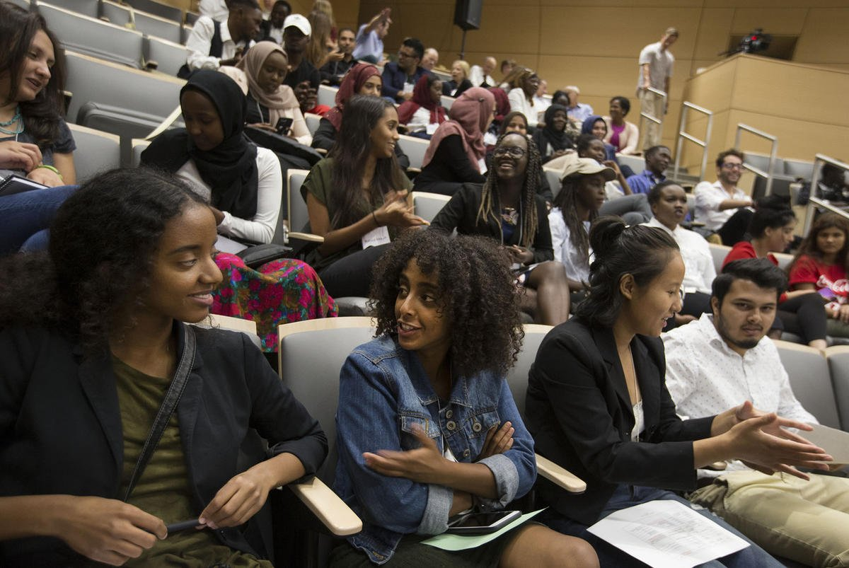 College student refugees placed in careers with new program